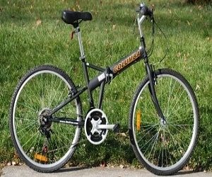 Columba Foldable Bike with Shimano