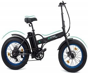 Ecotric Fat Tire Folding Electric Bike