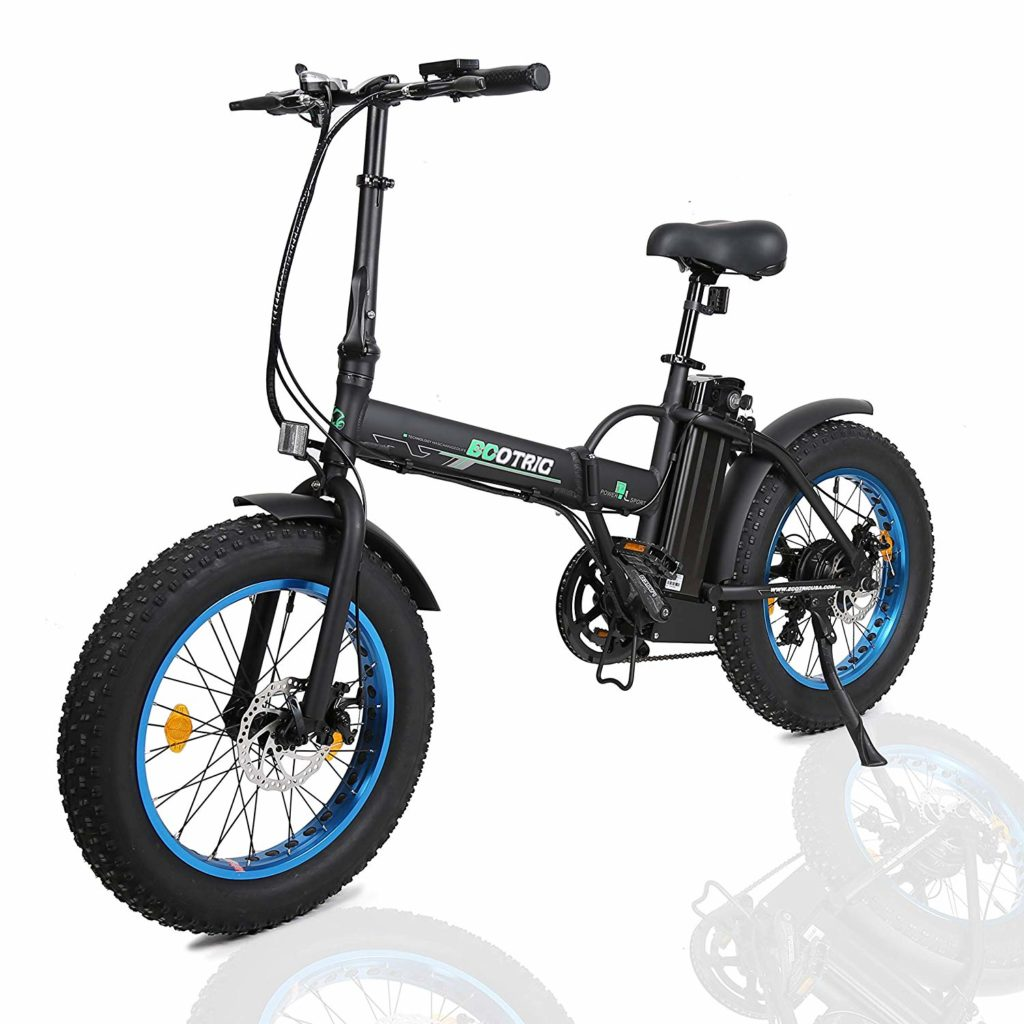 ECOTRIC Fat Tire Electric Bike Beach Snow Mountain Bicycle Review