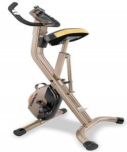 Exerpeutic Gold Foldable Exercise Bike