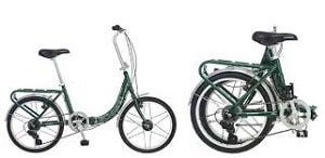 Half Foldable Bike