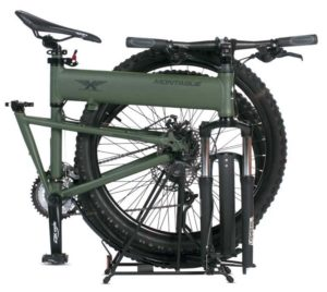 Montague Paratrooper 24 Speed Folding Mountain Bike Folding Position