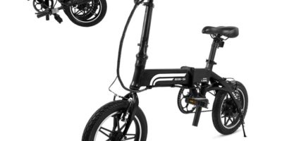 SwagCycle EB-5 Pro Lightweight and Aluminum Folding EBike Review
