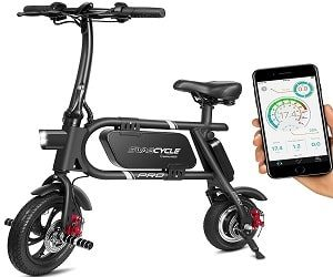 SwagCycle Pro Foldable Electric Bike