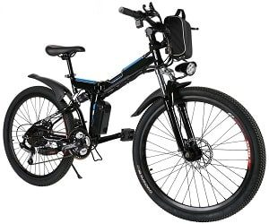 Utheing Folding Electric Mountain Bike Bicycle