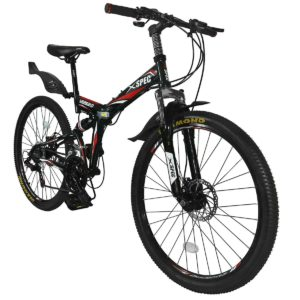 Xspec Folding Mountain Bike for Adult