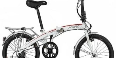 Xspec Lightweight Folding Compact Bike